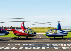 Helicopters used for Siteseeing